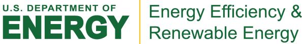 US Department of Energy, Energy Efficiency & Renewable Energy logo